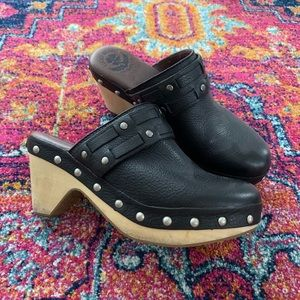 Lucky Brand Studded Clogs